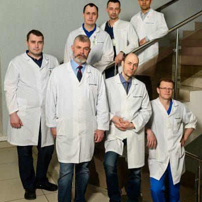 Нейроортопедическое отделение занимается лечением дегенеративно-дистрофических заболеваний позвоночника
