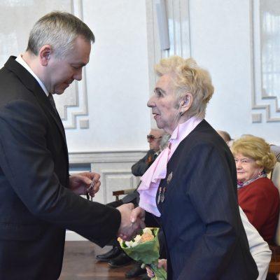 Профессор ННИИТО Алла Михайловна Зайдман получила юбилейную медаль «75 лет Победы в Великой Отечественной войне»
