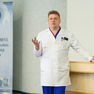 Заведующий отделением анестезиологии-реанимации Александр Агеенко
